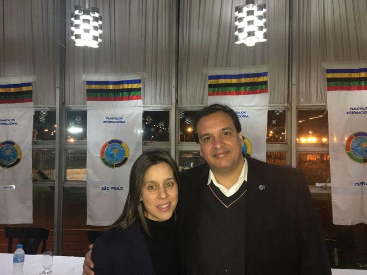 Fabiana Freixo fala sobre presbiacusia no Panathlon Clube de São Paulo